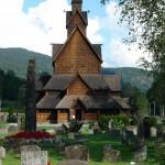 Stabkirche Heddal- Typisch für Norwegen
